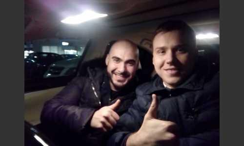 Вахтанг. Помогали в организации концерта в Краснодаре